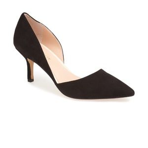 Sole Society Black Suede Pumps- 7.5- Worn once